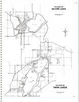 Map Image 003, Kenosha and Racine Counties 1986